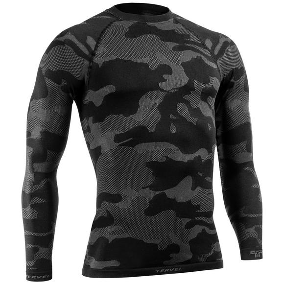 Tervel Optiline Light Tactical Shirt Long Sleeve Black/Gray