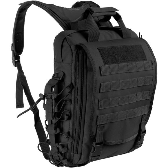 MFH MOLLE Shoulder and Backpack Black