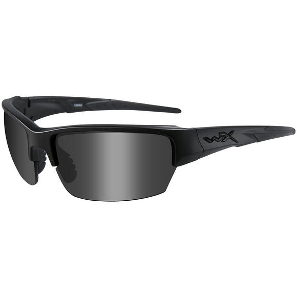 Wiley X WX Saint Glasses - Black Ops Smoke Grey Lens / Matte Black Frame