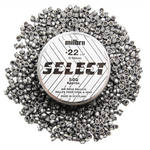 22 select milbro air rifle airgun air pistol pellets hunting shooting ebay. Black Bedroom Furniture Sets. Home Design Ideas