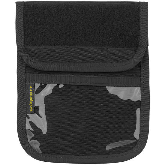 Wisport Patrol Neck ID Wallet Black