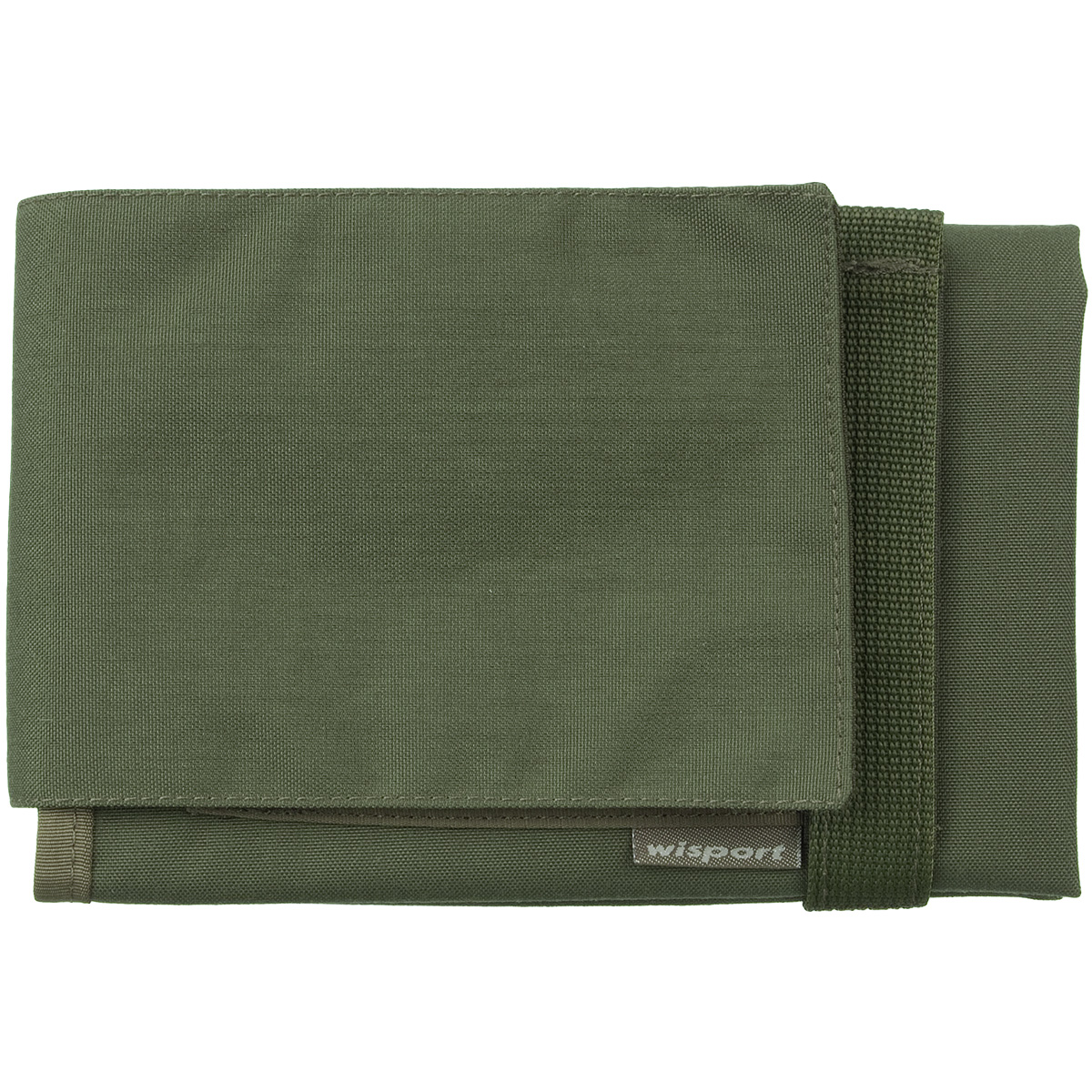 Wisport Linx Map Case Olive Green Miscellaneous