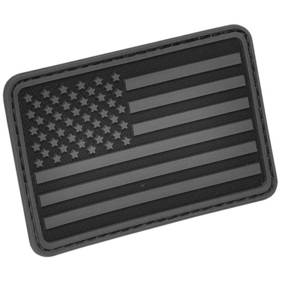 Hazard 4 USA Flag Left Arm Morale Patch Black