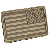 Hazard 4 USA Flag Right Arm Morale Patch Coyote