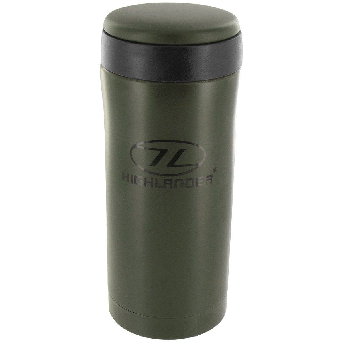 highlander sealed thermal mug olive  cooking  eating  military st - highlander sealed thermal mug olive highlander sealed thermal mug olive