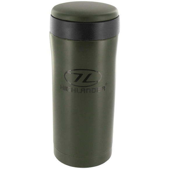 Highlander Sealed Thermal Mug Olive