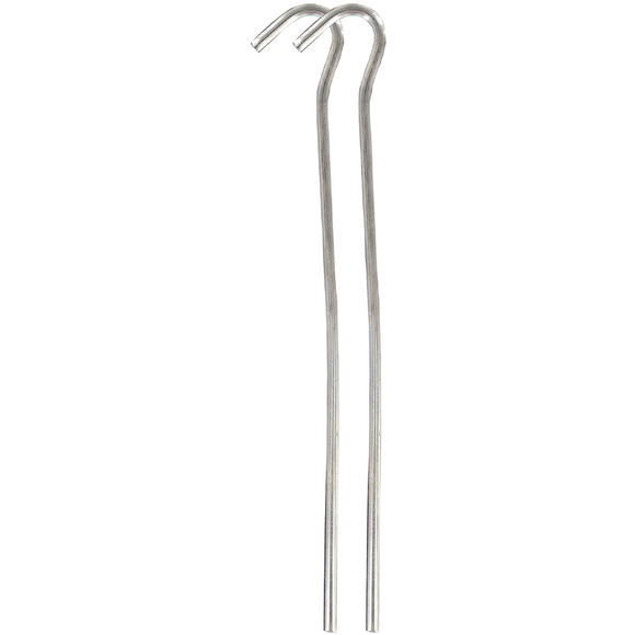 Highlander 18cm Steel Wire Pegs 10 Pack