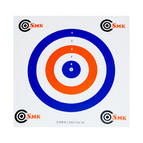 SMK Red White Blue 14cm Paper Targets (100 Pack)