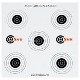 SMK 25ft 14cm Card Targets (100 Pack)