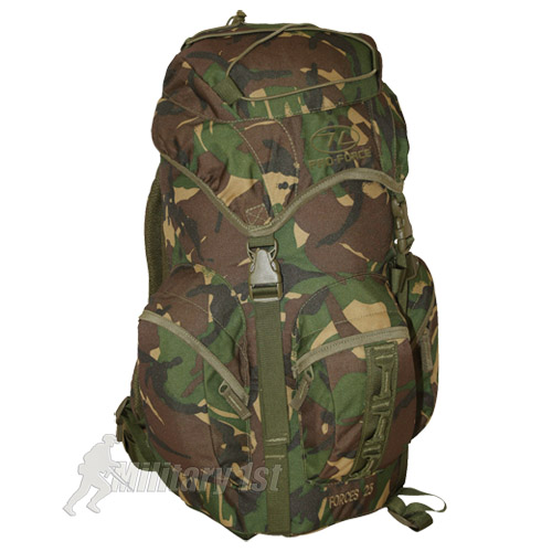 BRITISH ARMY RUCKSACK BACKPACK PRO-FORCE COMBAT MILITARY FORCES 25 LTR DPM CAMO