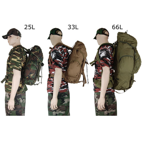 Waterproof Army Rucksack Backpack Pro Force Combat Cadet