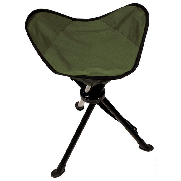 MFH Tripod Folding Stool & Carry Case