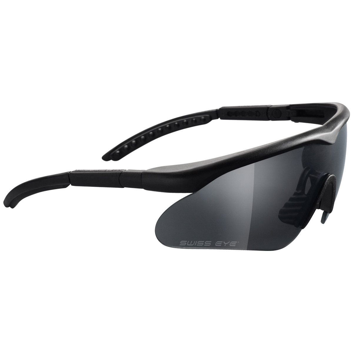 Glasses With Black Frame : Swiss Eye Raptor Glasses Black Frame Ballistic Glasses ...