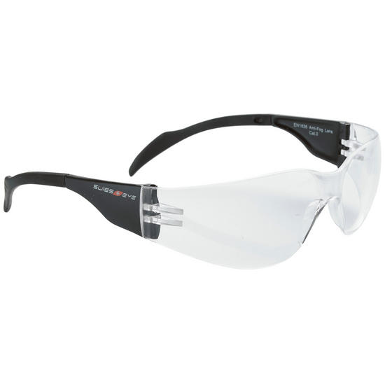 Swiss Eye Outbreak Glasses Black Frame Clear Lens