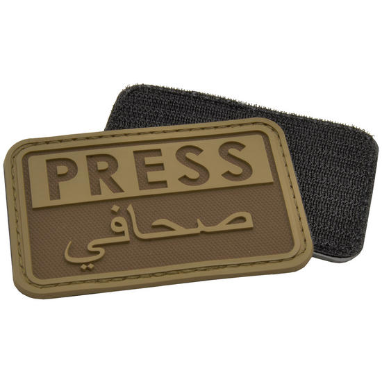 Hazard 4 3D Press / Arabic Reporters Morale Patch Coyote
