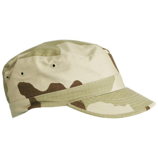 Teesar Field Cap 3-Colour Desert