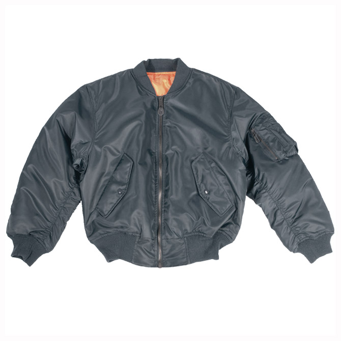 AIR FORCE PILOT MILITARY MA1 FLIGHT MA-1 ARMY MENS BOMBER JACKET ...