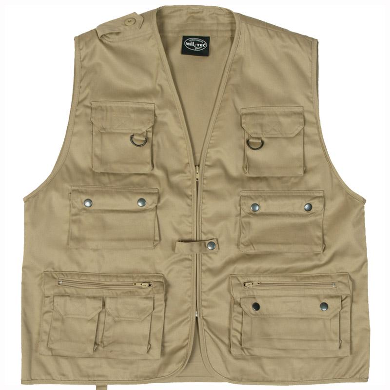 Fishing multi pocket vest mens waistcoat hunting bushcraft for 4xl fishing shirts