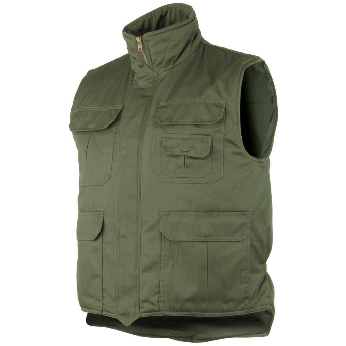 Army body warmer padded mens vest fishing jacket hunting for Mens fishing vest