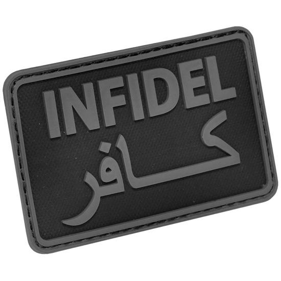 Hazard 4 Infidel Morale Joke Patch Black