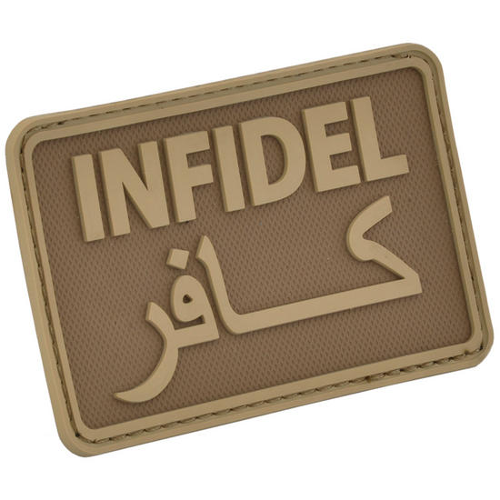 Hazard 4 Infidel Morale Joke Patch Coyote