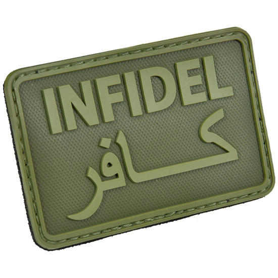 Hazard 4 Infidel Morale Joke Patch OD Green