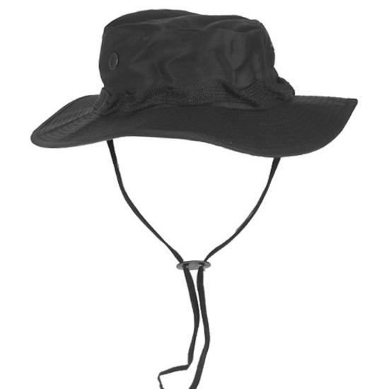 GI Ripstop Bush Hat Black