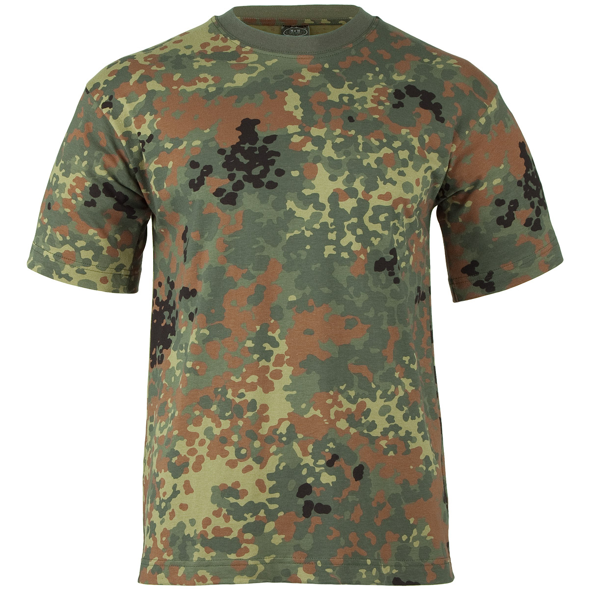 mfh t shirt flecktarn t shirts vests military 1st. Black Bedroom Furniture Sets. Home Design Ideas