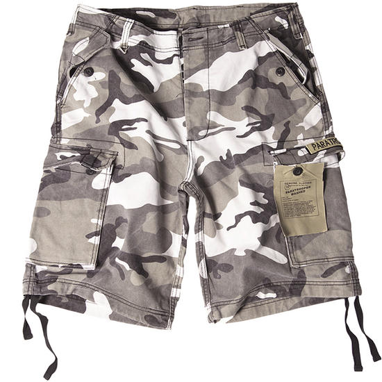 Paratrooper Cargo Shorts Prewashed Urban
