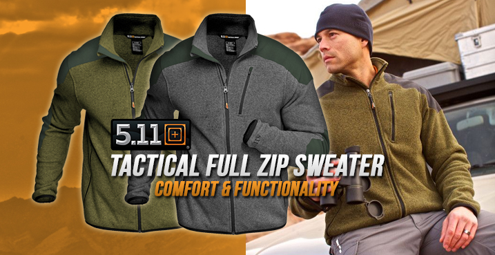 5.11 Tactical Full Zip Sweater