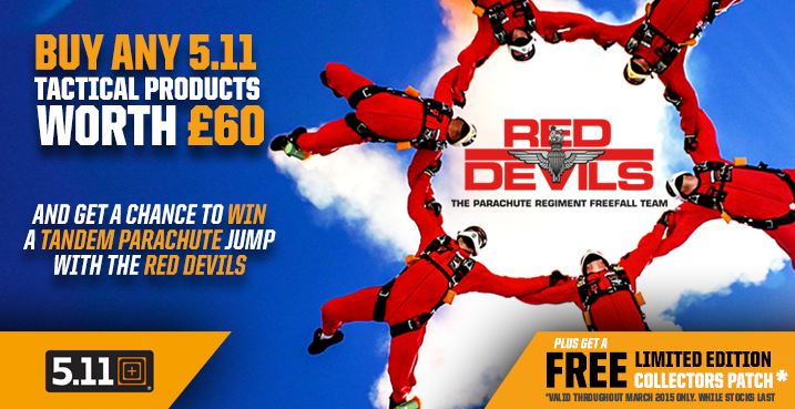 5.11 Red Devils Promo