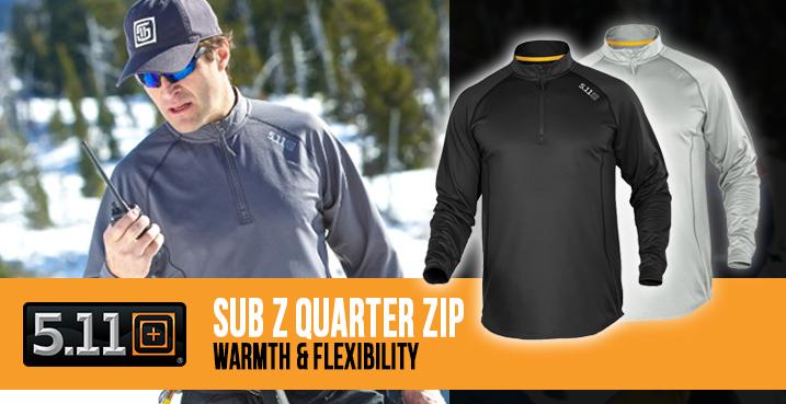5.11 Sub Z Quarter Zip