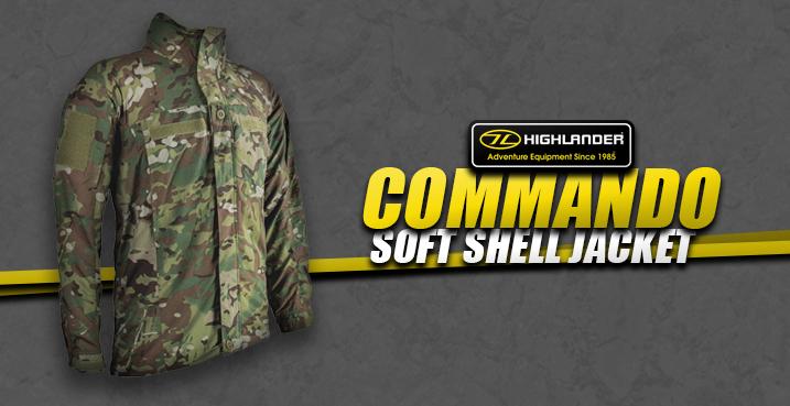 Highlander Commando Soft Shell Jacket