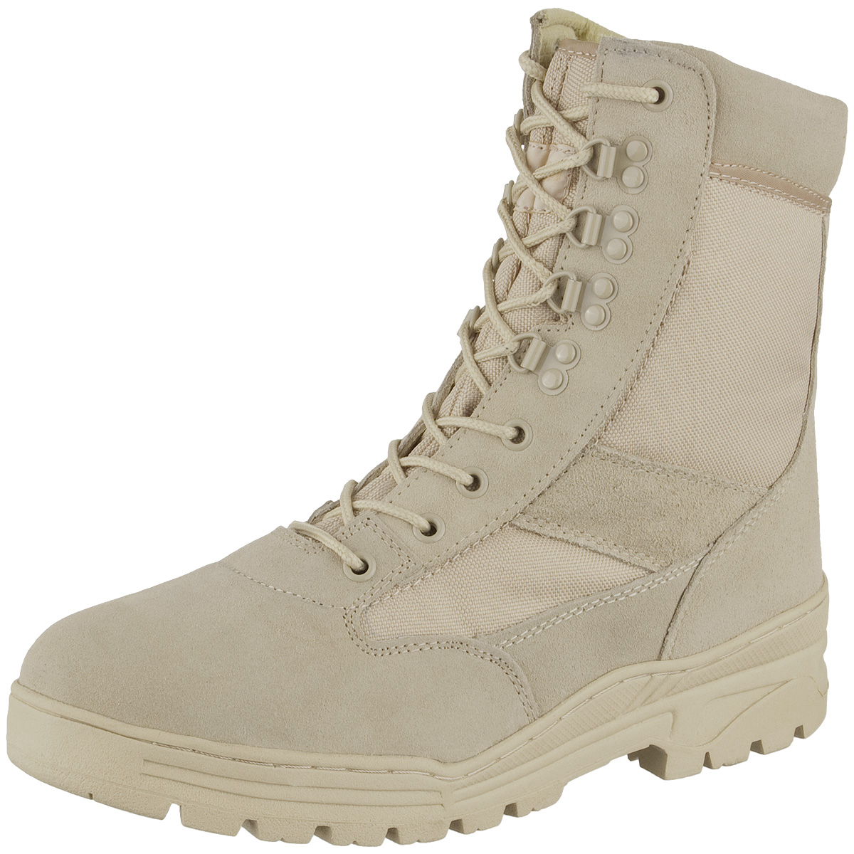 desert patrol suede leather combat boots mens army