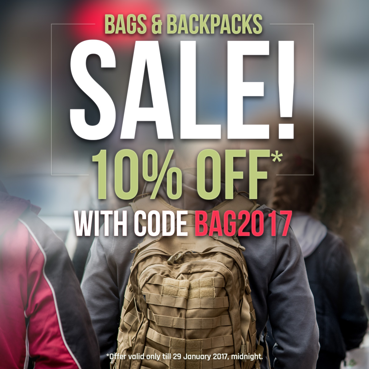 Bags and Backpacks Sale!