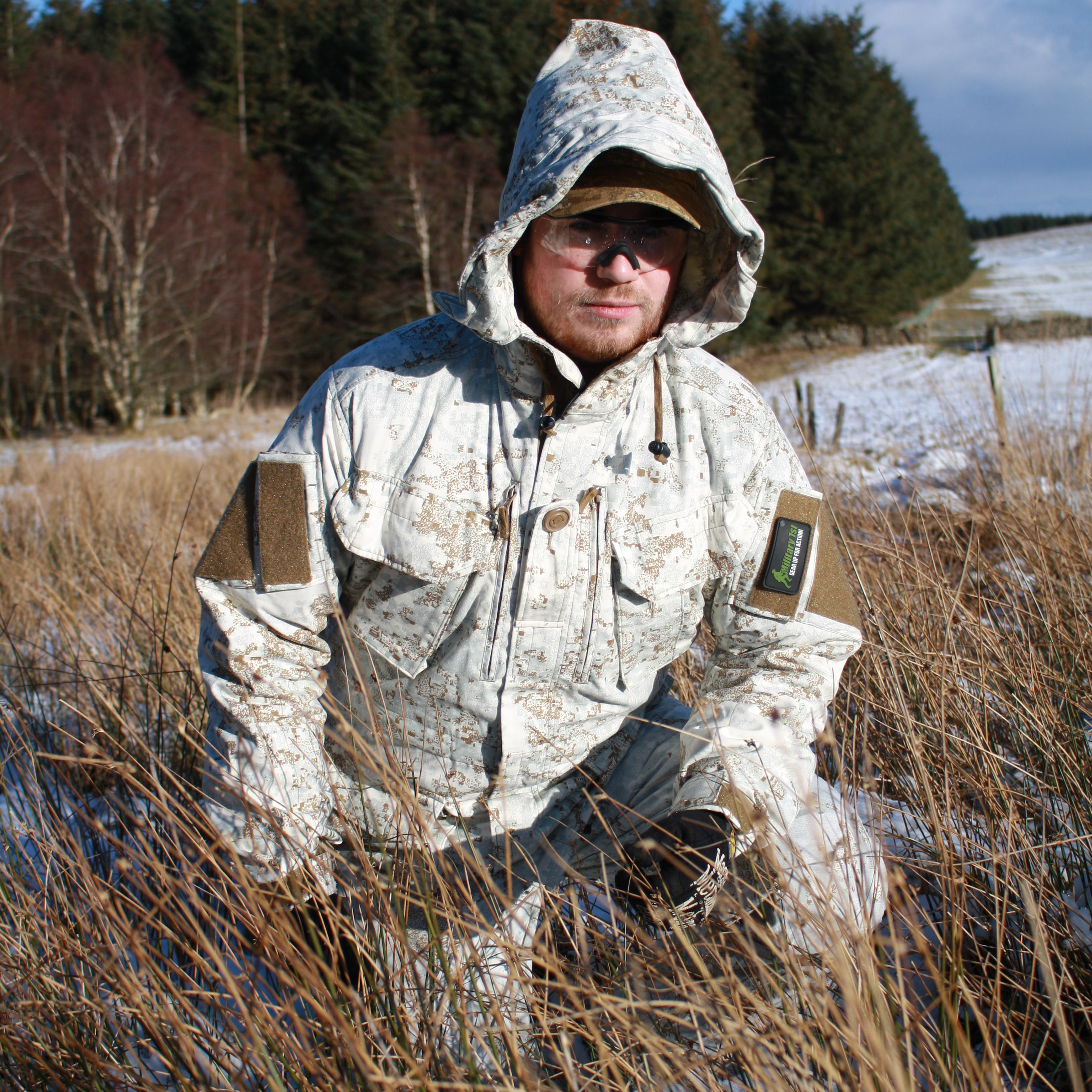 Helikon PCS Smock in Pencott Snowdrift Review
