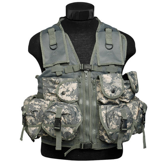Mil-Tec Ultimate Assault Vest ACU Digital