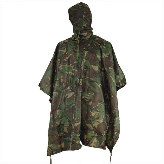 Mil-Com Waterproof Poncho Ripstop DPM Preview