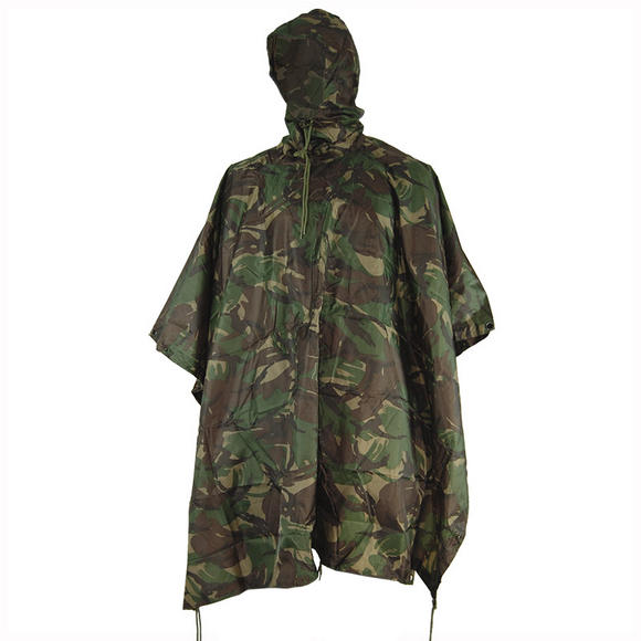 Mil-Com Waterproof Poncho Ripstop DPM