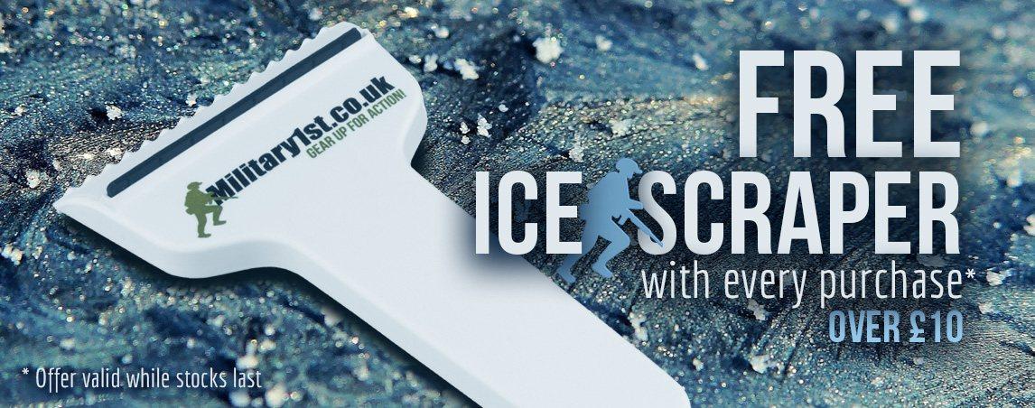 Military 1st Ice Scraper
