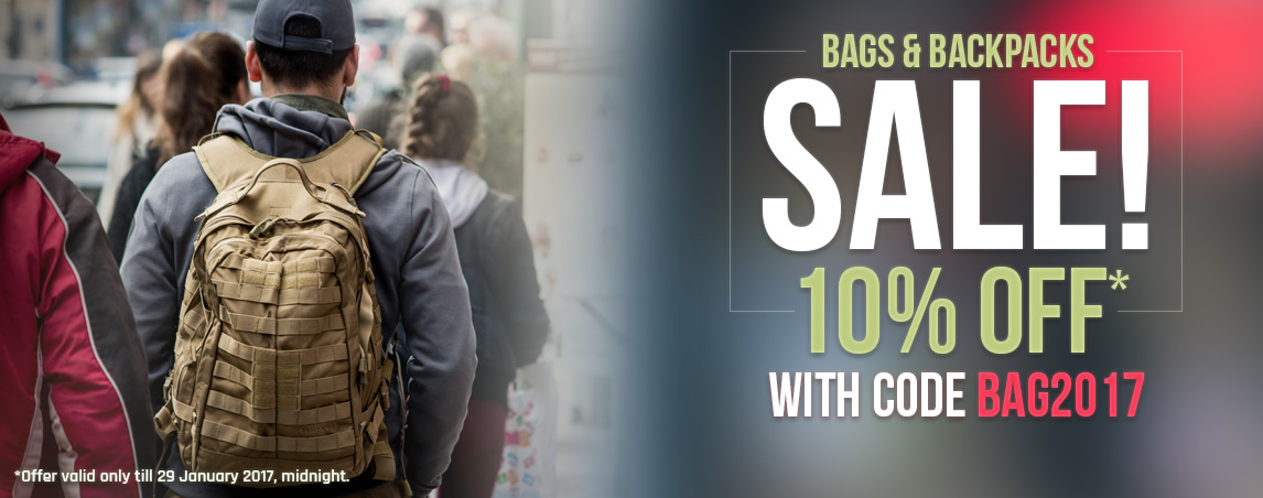 Bags and Backpacks Sale 2017