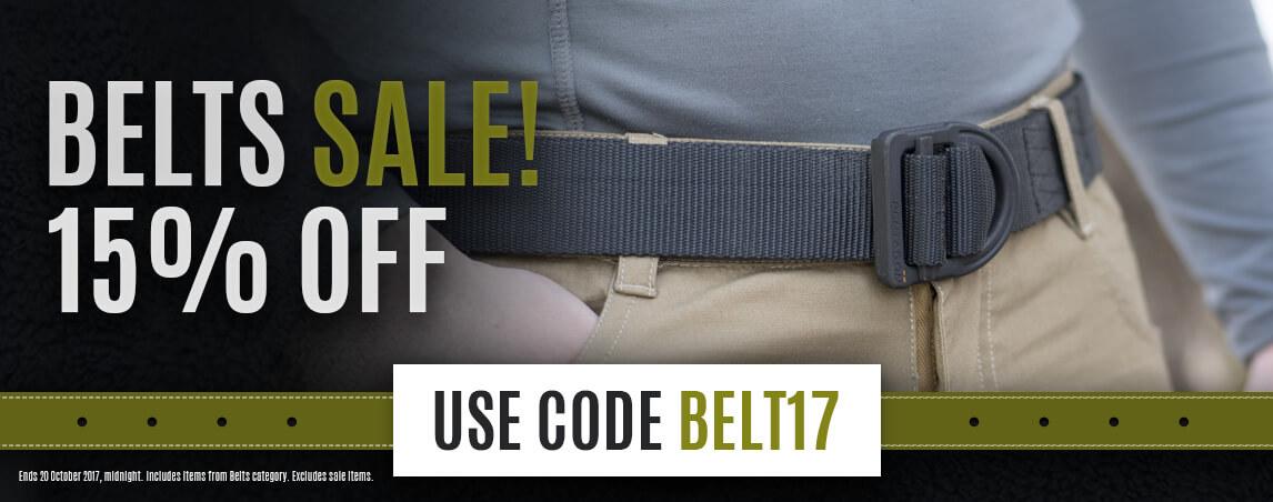 Belts Sale!