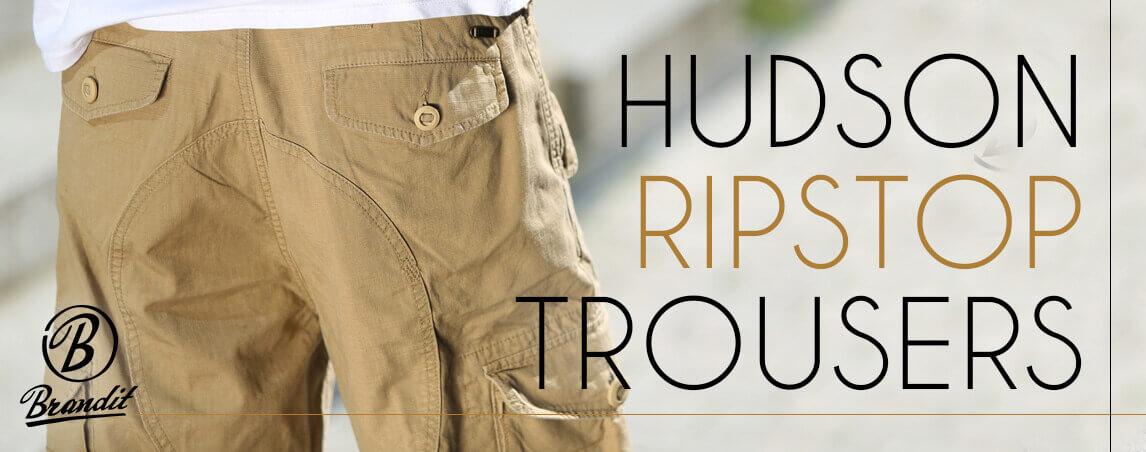 Brandit Hudson Ripstop Trousers