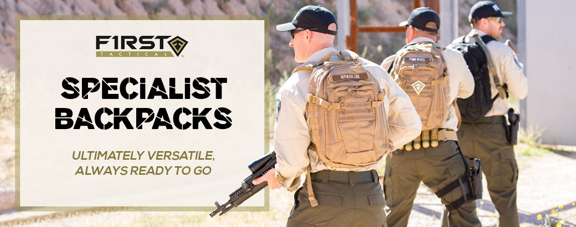 First Tactical Specialist Backpacks