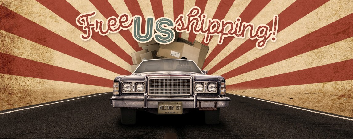 Free U.S. Shipping!