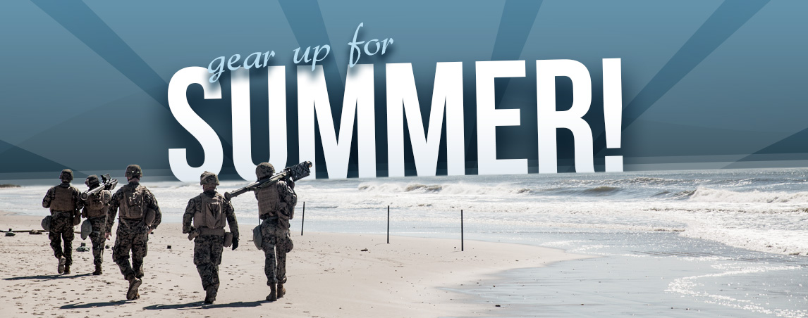 Gear up for summer