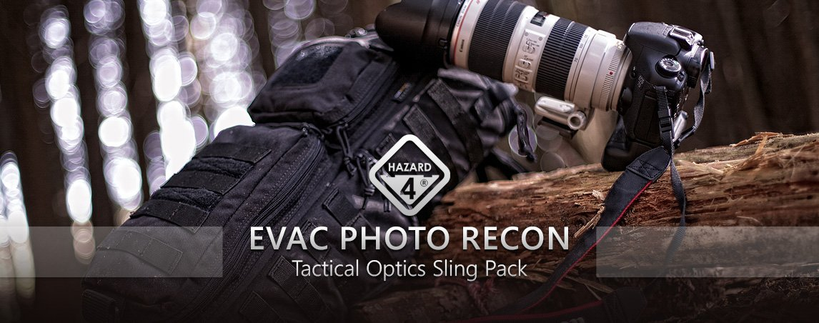 Hazard 4 Evac Photo Recon Sling Pack