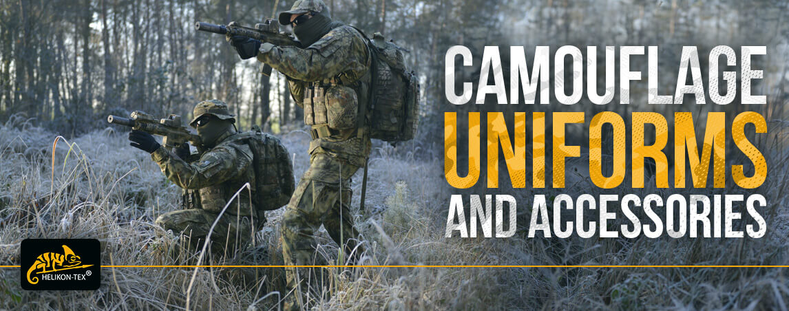 Helikon Camo Uniforms and Accessories