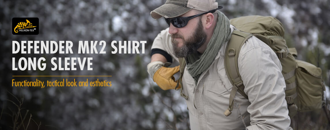 Helikon Defender Mk2 Long Sleeve Shirt