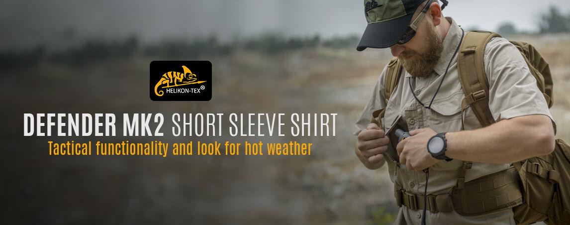 Helikon Defender Mk2 Short Sleeve Shirt